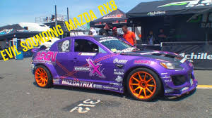 Evil Sounding Turbo Mazda Drift Car Mazdatrix Youtube