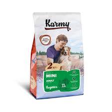 <b>KARMY Сухой корм Mini</b> Adult для собак мелких пород Индейка 2кг