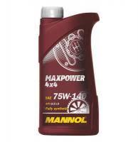 <b>Масло трансмиссионное MANNOL</b> 4*4 75W140 1л - 1236 - купить ...
