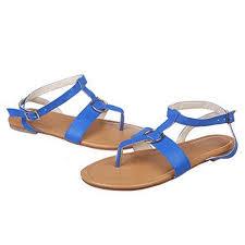 Buy Fyou <b>Women's Ladies Summer</b> Buckle Flat Flip Flops Slippers ...