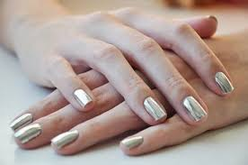 10 Ways To Get Beautiful Hands   Metallic nails, Silver nails ...