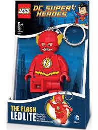 30% <b>Lego</b>. <b>Брелок</b>-фонарик для ключей <b>LEGO</b> Super Heroes - Flash