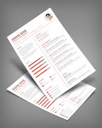 clean minimal resume cv design template ai file good resume clean minimal resume cv design template ai file