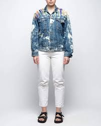 Rework <b>Vintage Hand Painted</b> Denim Jacket   Reworked Jackets ...