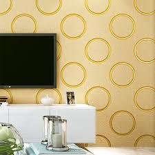 3d modern wallpapers home decor geometric wallpaper non woven wall paper rolls decorative bedroom living room