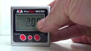 <b>цифровой уровень угломер ADA ProDigit</b> Micro - YouTube