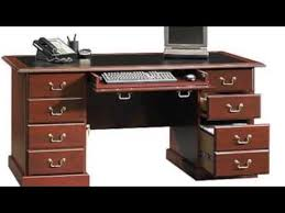 home office executive computer desk table cherry wood furniture pc workstation cherry wood home office