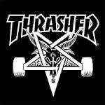 thrashed