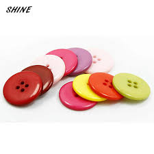 SHINE <b>Wooden</b> Sewing Buttons Scrapbooking Flower Colorful ...