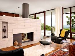 furniturescenic white midcentury modern living room photos mid century fireplace mantle kevin alterlake view fetching easy add midcentury modern style