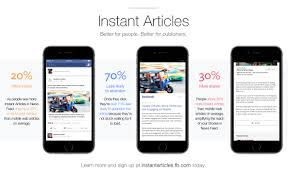 how facebook instant articles work all you need to know what benefits does facebook instant articles have