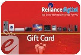 Reliance Digital Gift Card