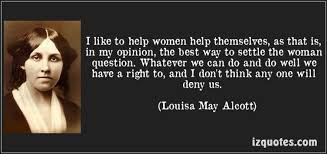 Inspired by Louisa May Alcott | University of London International ... via Relatably.com