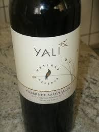 Kết quả hình ảnh cho yali reserva cabernet sauvignon