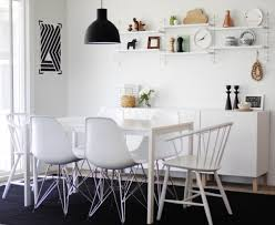 casual dining table and chairs view in gallery casual black and white dining room e selecting the ide