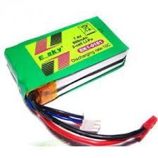 <b>Аккумулятор</b> LiPo <b>Esky</b> 7.4V 800мАч Lama V4 (разъем JST) - <b>EK1</b> ...