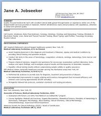 resume examples lab technician resume cover letter for domestic resume examples lab sterile processing technician resume example