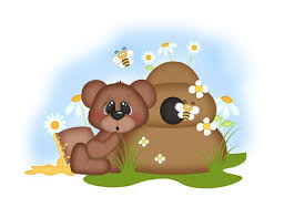 wall mural teddy bear and honey bumble bees for baby girl woodland animal nursery room baby nursery cool bee animal