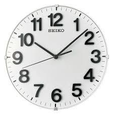 WATCH.UA™ - <b>Настенные часы Seiko QXA656W</b> 210x210mm ...