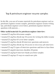 top8petroleumengineerresumesamples 150426005755 conversion gate01 thumbnail 4 jpg cb 1430027929
