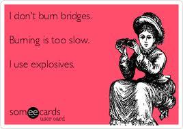 """Résultat de recherche d'images pour """"burning bridges"""""""