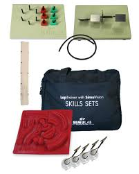 laparoscopic trainers simulab corporation laparoscopic student skill set