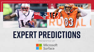 Game Predictions: Expert picks for Patriots at Bengals