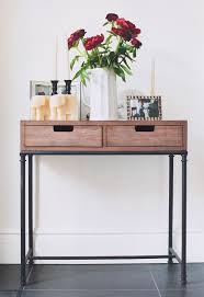 cheap entryway furniture mixed material console table threshold entryway tables ideas cheap entryway furniture