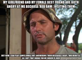 My girlfriend and my female best friend are both angry at me ... via Relatably.com