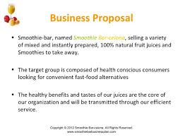 juice and smoothie bar business plan   order essay cheap