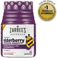 Zarbee's Naturals: <b>Children's Elderberry Immune Support</b> - Give InKind