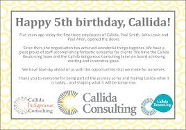 callida consulting linkedin today marks five years of callida consulting we look forward to the next five and beyond john lewis paul smith paul allen colin thirkettle ian mcshane