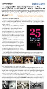 25 lessons i ve learned about photography life 25 lessons is asmp s 1 recommended summer read
