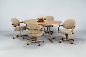 dining room chair sets rolling leather  dining chair designunbelievable  dining room chairs on wheels with ca