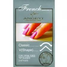 Отзыв о Полоски для <b>французского маникюра</b> Angevi ...