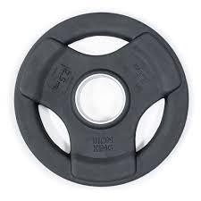 Диск обрезиненный с <b>3</b>-<b>мя</b> хватами 2.5 кг - Barbell.ru - диски, гири ...
