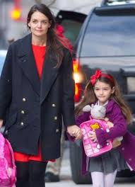 Image result for suri and katie holmes christmas