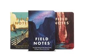 Field Notes <b>Notebooks</b> - National Parks <b>Series</b> A (<b>Summer</b> Edition ...