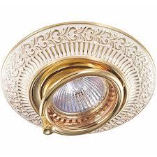 Встраиваемый <b>светильник Novotech</b> Vintage 370016 — купить в ...