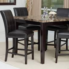 size dining room contemporary counter: quick view palazzo  piece counter height dining set