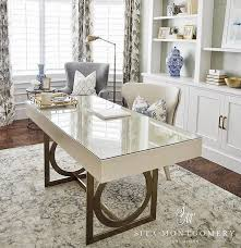 home office neutral home office with comfortable furniture home office ideas home office desk home office chairs home office draperies beautiful office desk glass