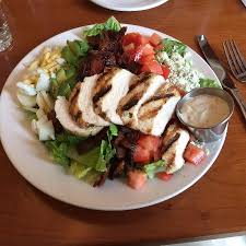 ax billy grill sports bar cobb salad with added chicken ax billy sports bar