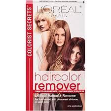Colorist Secrets Haircolor Remover : Hair Color ... - Amazon.com