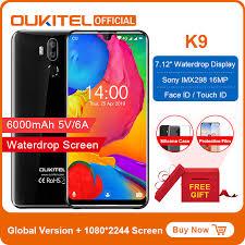 "<b>OUKITEL K9</b> Celular Phones 7.12"" FHD <b>Smartphone</b> 1080*2244 ..."