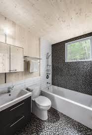 white micro tile design