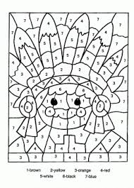 Small Picture Indian Color By Number Pages PrintablesColorPrintable Coloring