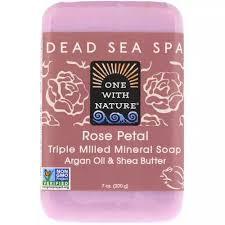 One Nature Shea Butter Bar Rose Petal