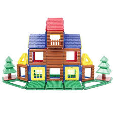 <b>Магнитный конструктор MAGFORMERS Log</b> House Set
