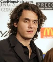 John Mayer is an American singer/songwriter and musician. He was born October 16, 1977 in Bridgeport, Connecticut and raised in Fairfield. - John-Mayer-Curly-Hairstyle