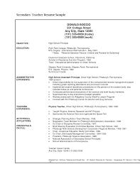 resume educational resume examples college student resume    free resume templates education teacher secondary teacher resume examples